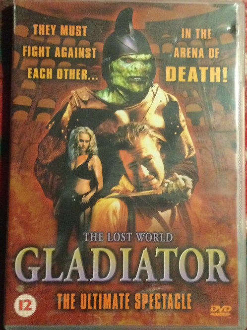 The Lost World: Gladiator DVD