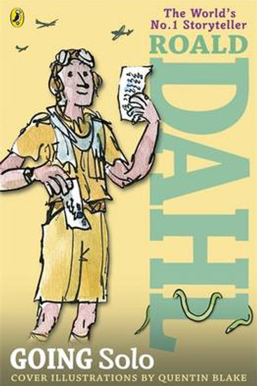 Going Solo (Paperback) Roald Dahl (author), Quentin Blake (illustrator)