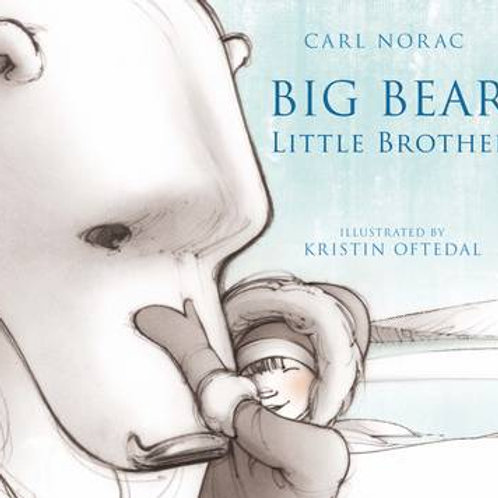 Big Bear, Little Brother (Paperback) Carl Norac