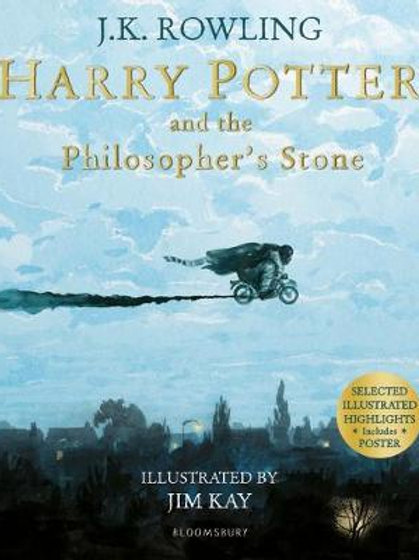 Harry Potter and the Philosopher's Stone: Illustrated Edition (Paperback)