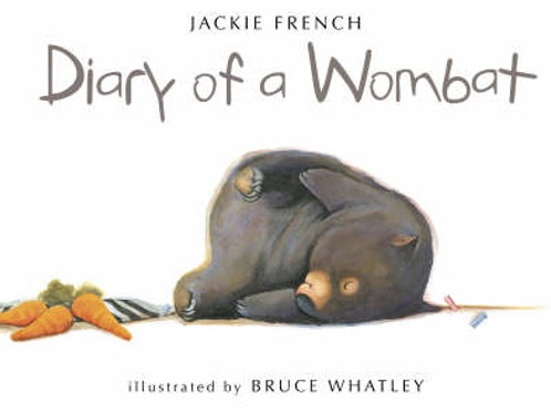 Diary of a Wombat (Paperback) Jackie French (author), Bruce Whatley (illustrator