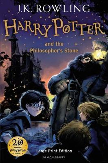 Harry Potter and the Philosopher's Stone (Hardback) by J. K. Rowling