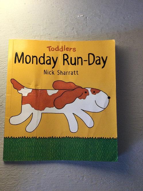 Monday Run-Day by Nick Sharratt