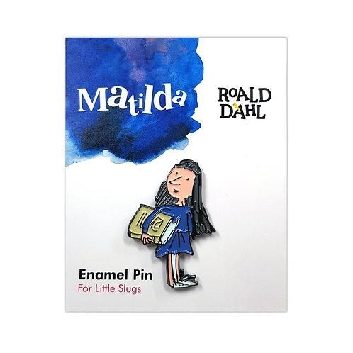 Roald Dahl Matilda Enamel Pin
