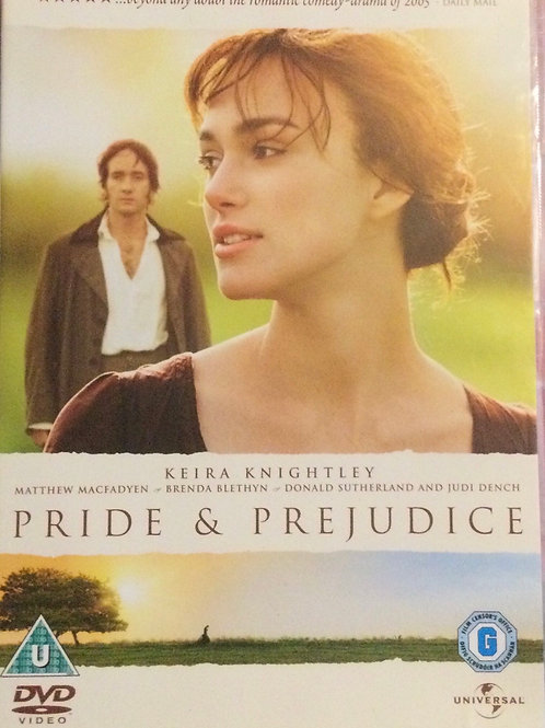 Pride & Prejudice DVD