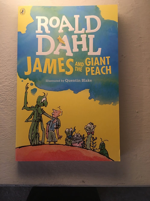 James and the Gaint Peach by Roald Dahl