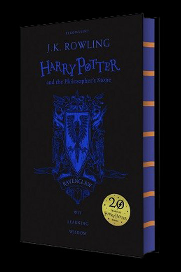 Harry Potter and the Philosopher's Stone - Ravenclaw Edition J. K. Ro