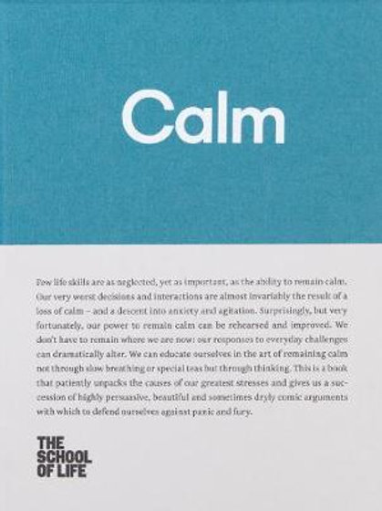 Calm: Educate yourself in the art of remaining calm, and learn how to defend you