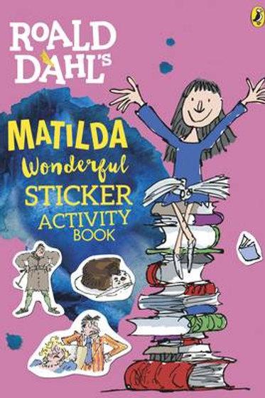 Roald Dahl's Matilda Wonderful Sticker Activity Book - Roald Dahl (Paperback)