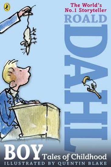 Boy: Tales of Childhood (Paperback) Roald Dahl (author), Quentin Blake (illustra