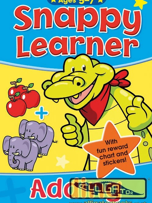 SNAPPY LEARNERS - ADDING -Ages 5-7