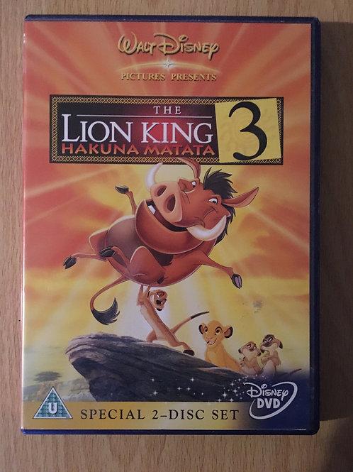 Special 2-Disc Set Walt Disney The Lion King 3 Hakuna Matata