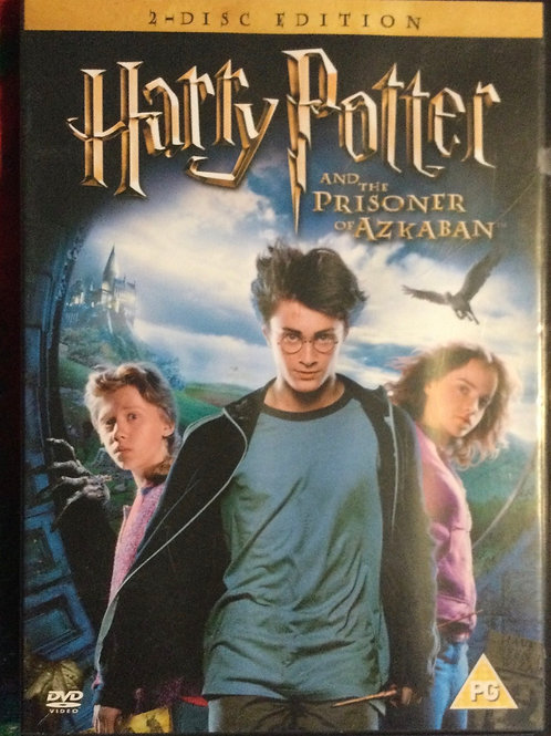 2 Disc edition Harry Potter and the Prisoner of Azkaban DVD