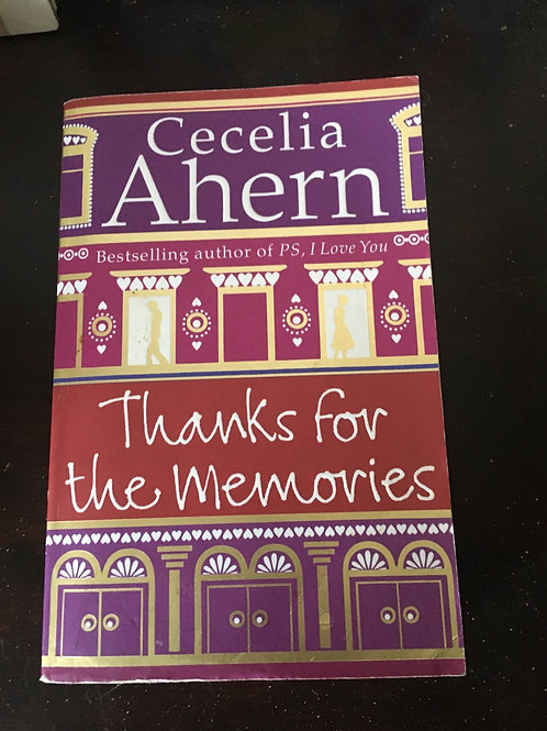 Thanks for the Memories (Paperback) Cecelia Ahern (author)