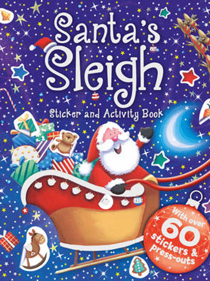 Santa's Sleigh - Stickers & Activity Book