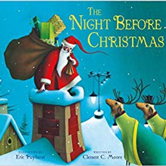 The Night Before Christmas (Paperback) Clement C. Moore, Eric Puybaret