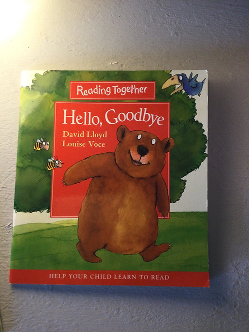 Hello, Goodbye by David Lloyd and Louise Voce