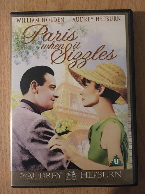 Paris when it Sizzles DVD