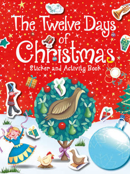 The Twelve Days of Christmas Sticker and Activity Book