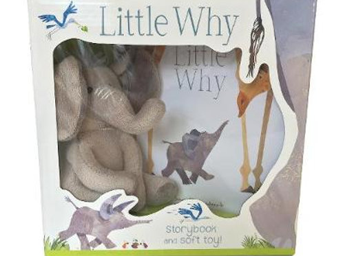 Little Why - Storybook and Soft Toy Jonny Lambert