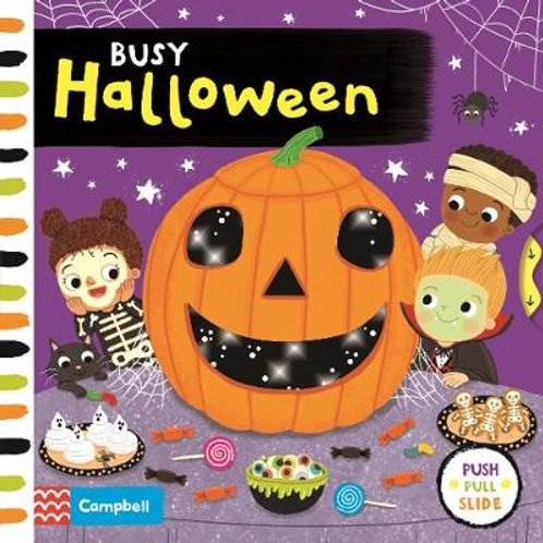 Busy Halloween - Busy Books (Board book) Louise Forshaw
