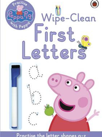 Peppa Pig: Practise with Peppa: Wipe-Clean First Letters - Peppa Pig (Paperback)
