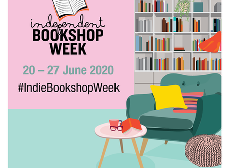 Reopening on Saturday 20 June 2020 For The Start of Independent Bookshop Week 2020
