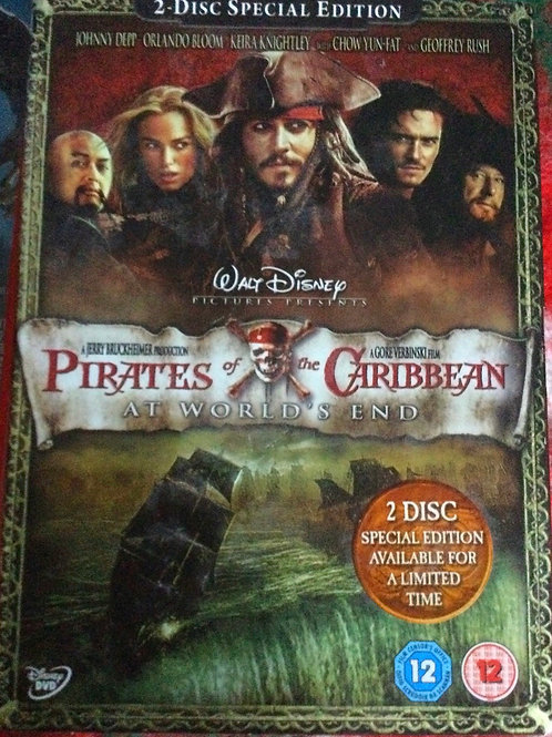2 Disc Special Edition Pirates of the Caribbean At World's End DVD