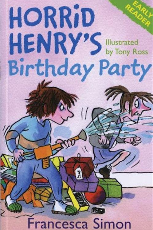 Horrid Henry's Birthday Party: Book 2 - Horrid Henry Early Reader (Paperback) Fr