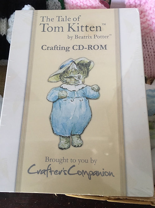 The Tale of Tom Kitten Crafting CD-ROM