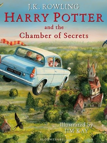 Harry Potter and the Chamber of Secrets: Illustrated Edition (Hardback)