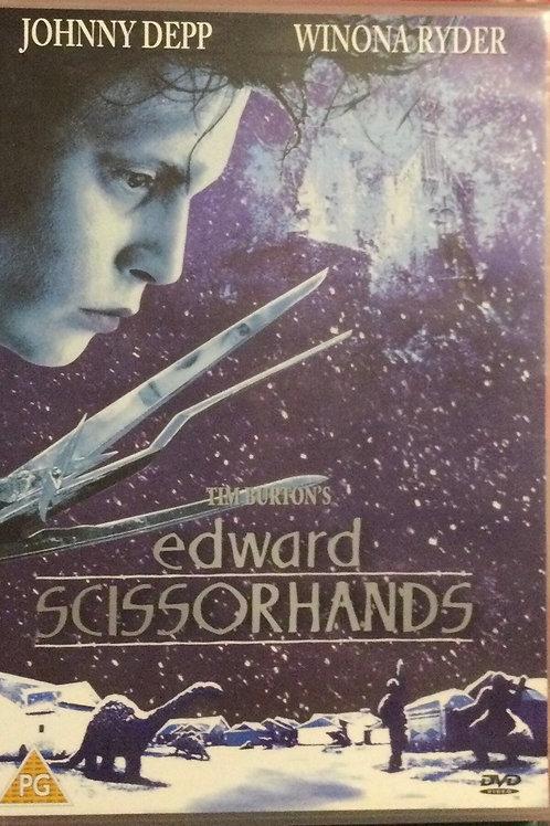 Tim Burton's Edward Scissorhands DVD