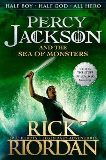 Percy Jackson and the Sea of Monsters (Book 2) Rick Riordan