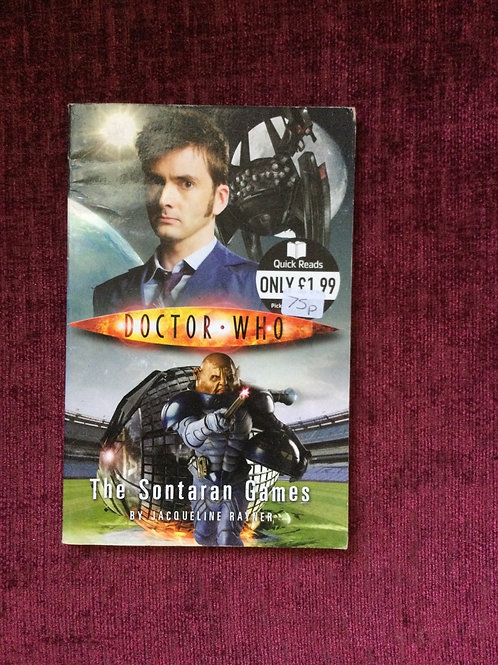 Quick Reads: Doctor Who - The Sontaran Games (Paperback) Jacqueline Rayner