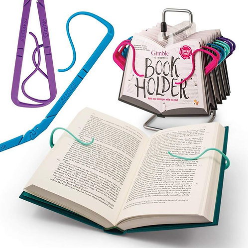 GIMBLE ADJUSTABLE BOOK HOLDER