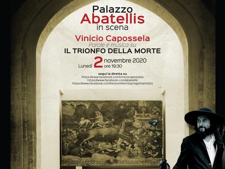 Al Museo Abatellis Capossela dialoga con Trionfo della Morte