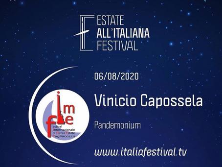 06/08 Festival Internazionale di Mezza Estate di Tagliacozzo | Pandemonium di Vinicio Capossela