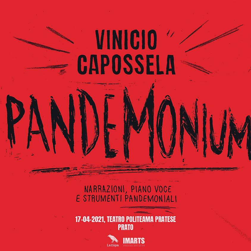 [ ANNULLATO ] - Vinicio Capossela • Teatro Politeama Pratese // Prato