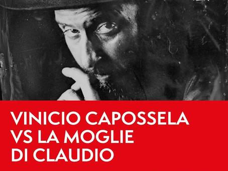"""Vinicio Capossela al Cinema Massimo sonorizza """"La moglie di Claudio"""""""