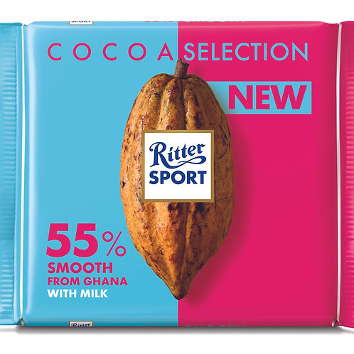 Ritter Sport Cocoa Selection 55% 100g