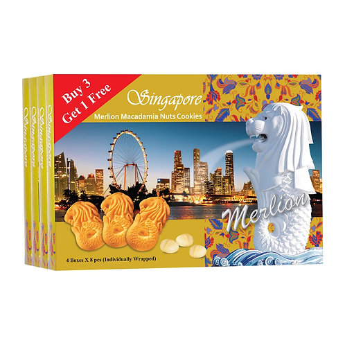 Merlion Asst. Macadamia Nuts Cookies 320g