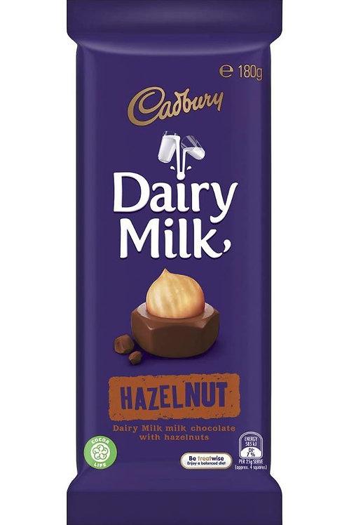 Cadbury Bar Hazelnut 180g