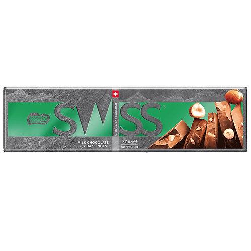 Nestle Swiss Milk Hazelnut Tablet 300g