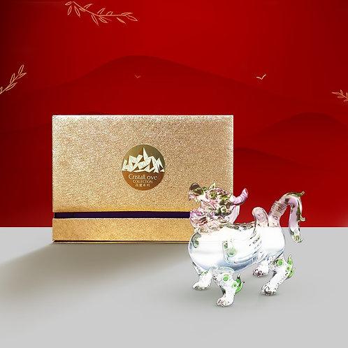 Cristallove Auspicious Pi Xiu (Fortune)