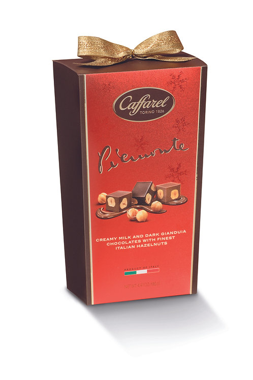 Caffarel Red Piemonte Assorted Cornet With Ribbon 180g (79526)