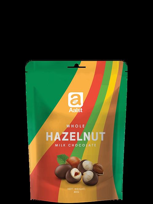 Aalst Whole Hazelnut Milk Chocolate Doypack 40g
