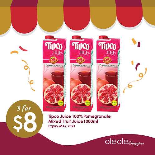 3 for $8 Selected Tipco Juice