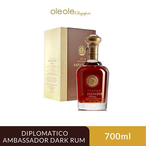 Diplomatico Ambassador Dark Rum 700ml, Alc. 47%