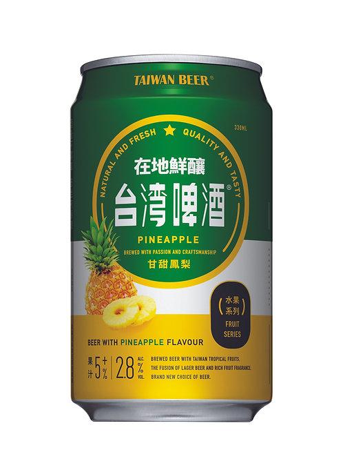 Taiwan Beer Fruit Series Pineapple 6 x 330ml, Alc. 2.8%