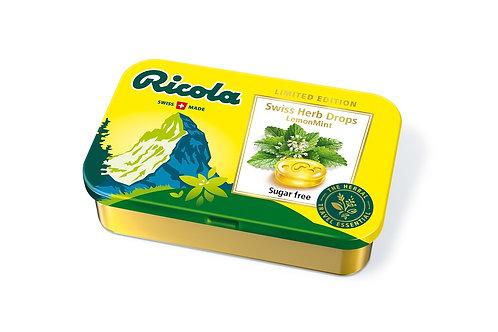 Ricola Lemon Mint Sugarfree Herb Drops 75g